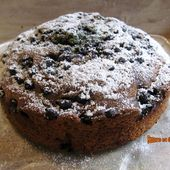 Gâteau aux myrtilles et au citron - www.sucreetepices.com