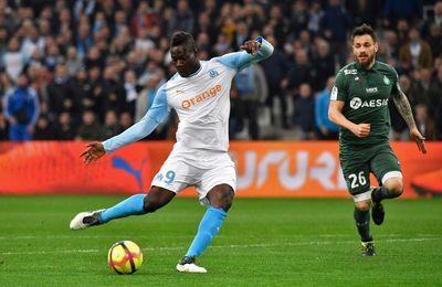 Marseille s'impose face à Saint-Etienne en Ligue 1