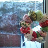 Tutorial: Last-minute scrappy wreath ornament!
