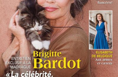 Briigitte Bardot en couverture de Point de vue !