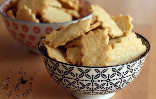 ☆ Crackers au Cheddar {Idée Apéro Simplissime} ☆