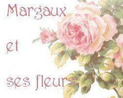 Margaux et ses fleurs... essai avec de l'amarante