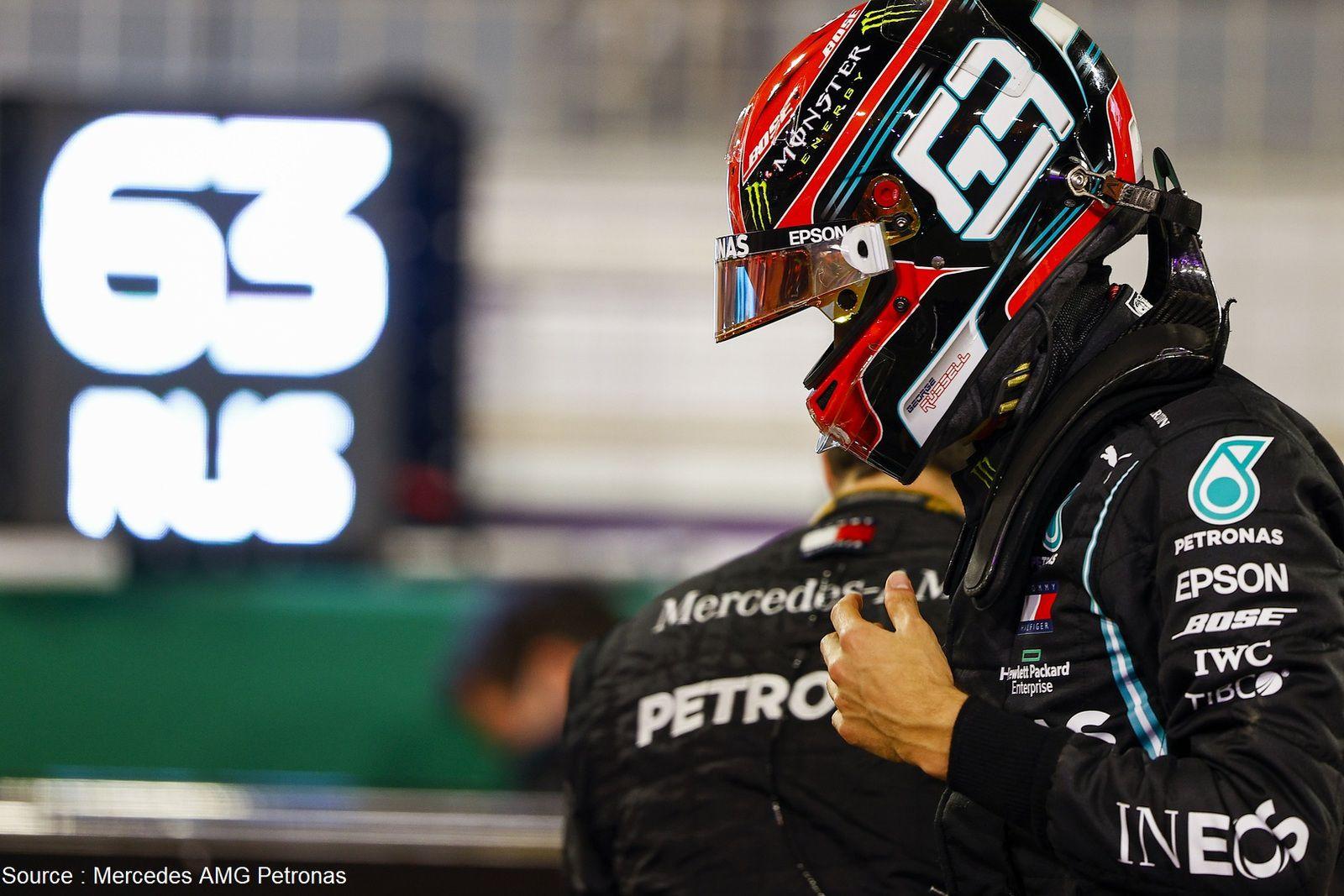George Russell va pouvoir de nouveau porter les couleurs Mercedes