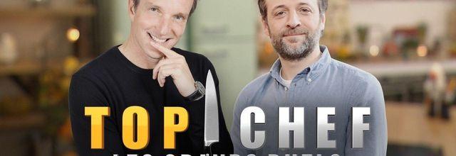 """Thibault Sombardier affronte Jean-Edern Hurstel dans """"Top Chef : Les grands duels"""" ce soir sur M6"""