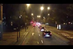 Dans le Bus: Video TimeLapse Route 30 de nuit