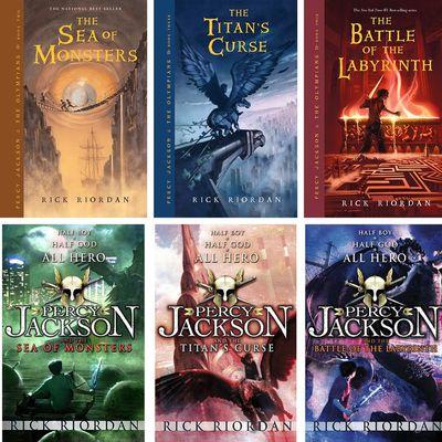 """Percy Jackson"" de Rick Riordan: La Saga"