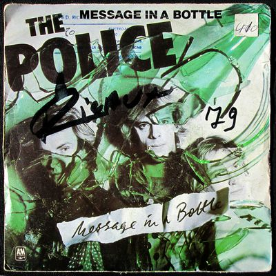 The Police - Message in a bottle / Landlord - 1979