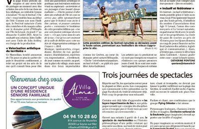 Chiche, le Festival dans la presse