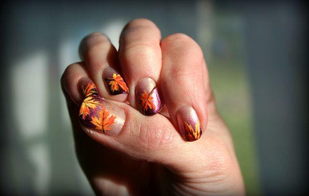 Deco ongle d automne
