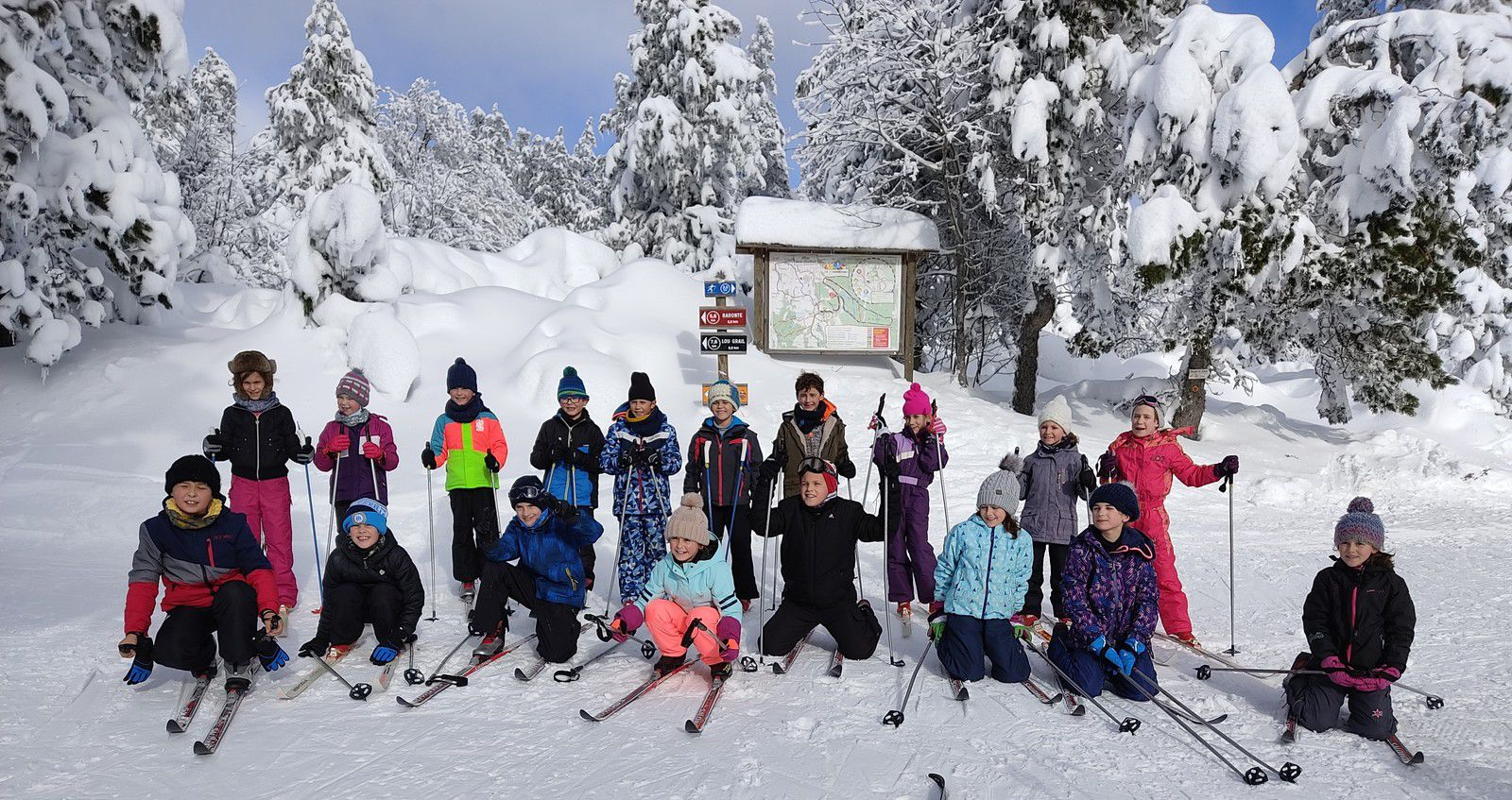 Ski de fond sur l'Aubrac