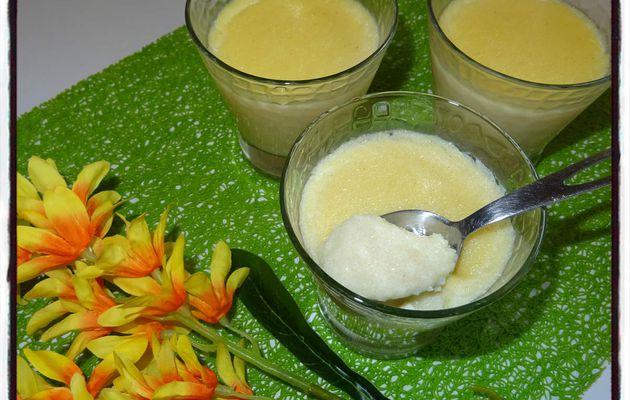 Semoule au lait vanillé (cookéo)