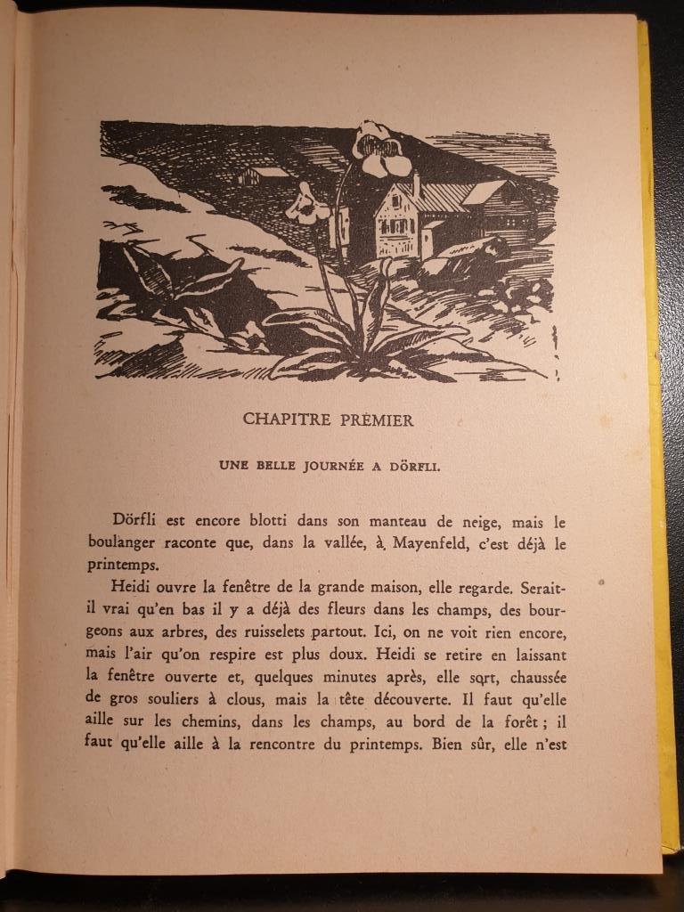 HEIDI ET SES ENFANTS 1949 JOHANNA SPYRI - 11 euros