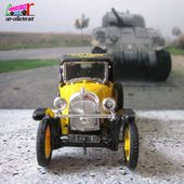 "CITROEN 5HP CAPOTEE 1925 APPELEE ""LE TREFLE"" CLUB HANDBALL THANN 2010 ELIGOR 1/43 - car-collector.net"