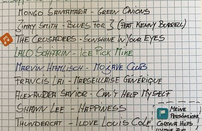 Handwritten Playlist - Homeland
