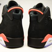 Nike Air Jordan VI Rétro 2014 Black Infrared