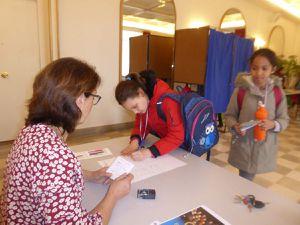 La signature des registres