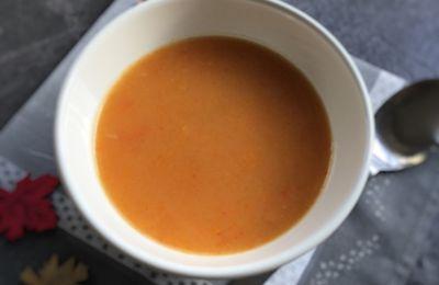 Mouliné de pommes de terre carottes poivrons