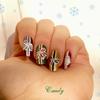 Nail art de Noël! :)