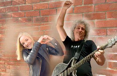 Brian May et Kerry Ellis dévoilent le titre « Panic Attack 2021 » °Via ZIKEO°