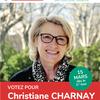 On vote pour Christiane Charnay et sa liste C'est la gauche unie, le 15 mars aux métropolitaines.
