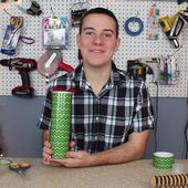 """Dollar Store Crafts """" Blog Archive """" Tutorial: Recycled Gift Tin"""