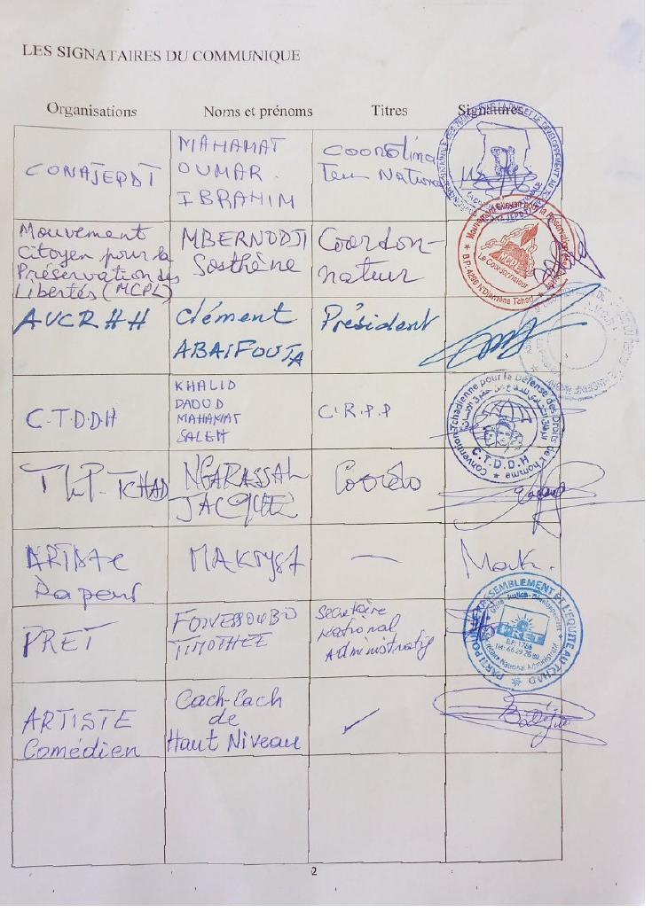 Tchad: plusieurs acteurs sociopolitiques se mobilisent pour organiser un forum citoyen alternatif