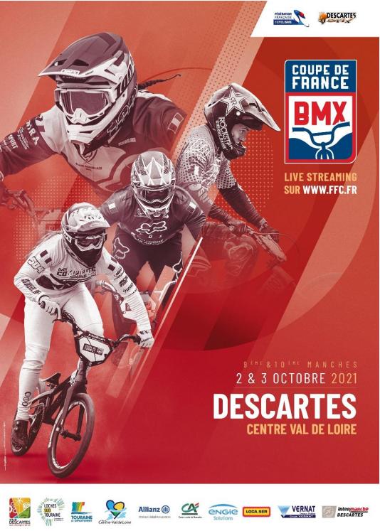 Inscriptions Coupe de France à Descartes