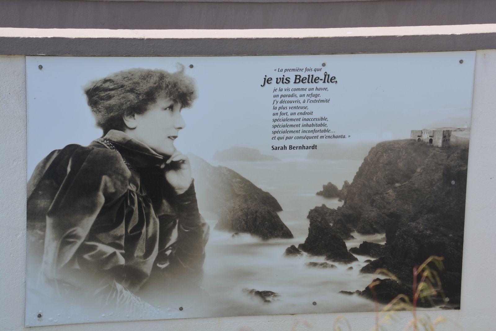 Sur les pas de Sarah Bernhardt à la pointe des Poulains