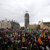 After protests, Britain's parliament declares climate change...