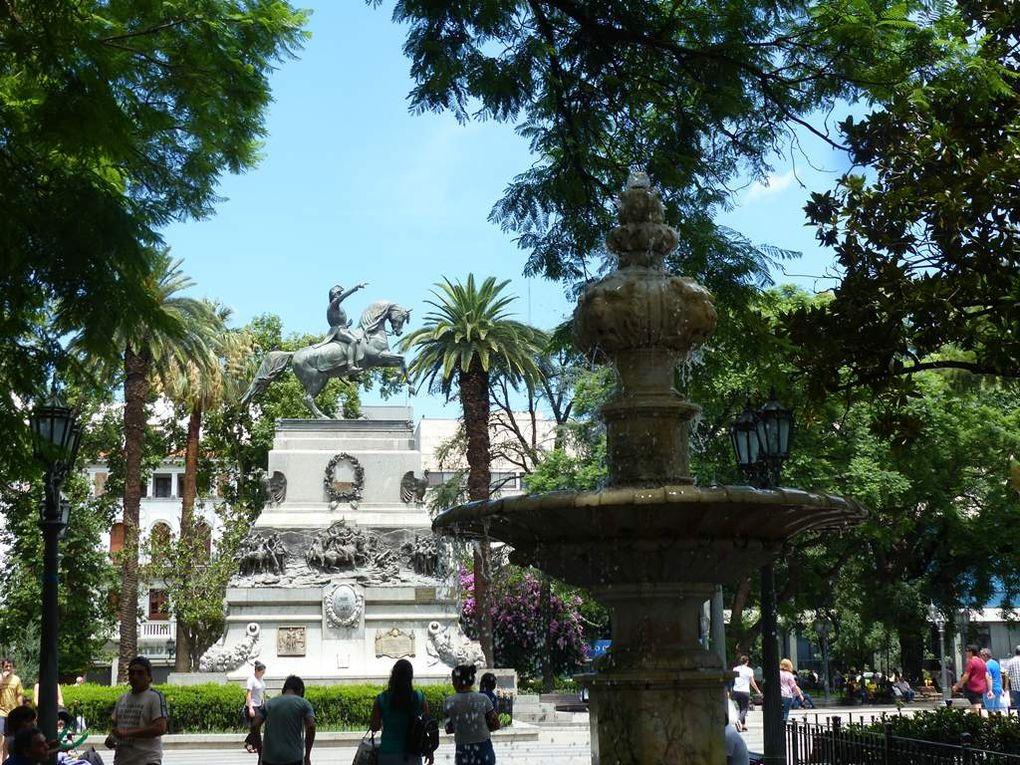 ! Qué calor ! De Valparaiso à Cordoba.