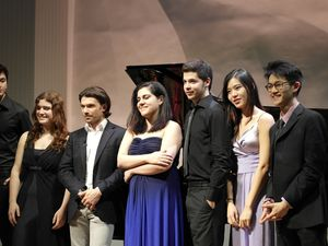 Nathan Chan (USA), Yoon-Kyung Cho (South Korea), Aurélien Pascal (France), Julia Hagen (Austria)