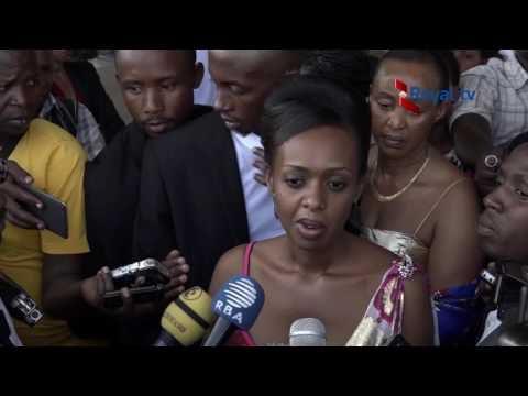 Amashusho abiza ibyuya Kagame ni Diane Rwigara wakiranwa ubwuzu, urugwiro n'ibyishimo n'abanyarwanda