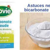 Les astuces nettoyage du bicarbonate de soude
