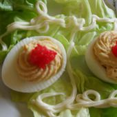 Recette - Oeufs farcis inratables | 750g