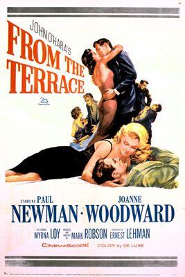 Du haut de la terrasse de Mark Robson avec Paul Newman - Joanne Woodward - Ina Balin - Myrna Loy - Leon Ames - Barbara Eden - Elizabeth Allen - George Grizzard - Patrick O'Neal