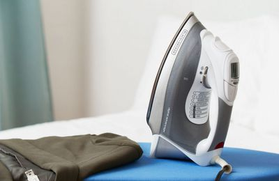 Picking Up Your Steam Iron