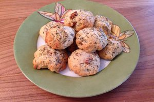 Cookies salés au gorgonzola