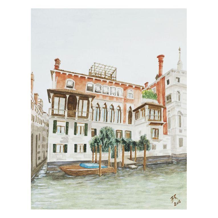 mes quarelles et croquis de Venise