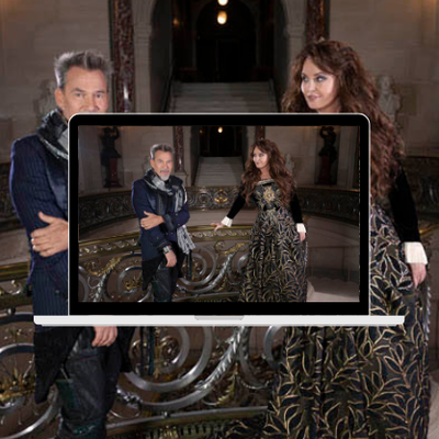 Sarah Brightman & Florent Pagny, le making of du duo