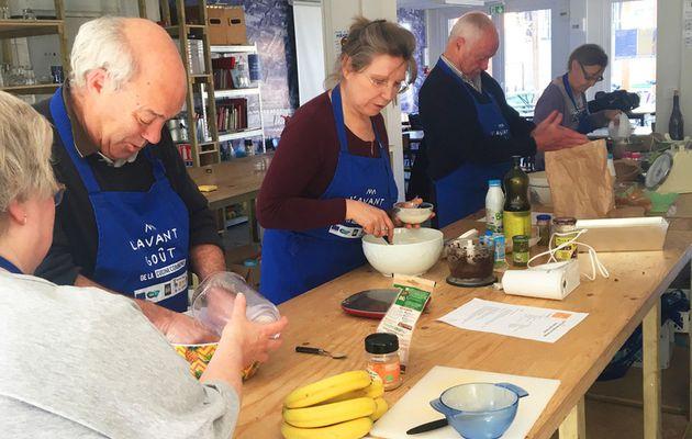 Atelier Cuisine Senior de la Croix Rouge | Les recettes trompe-l'œil du 1er avril