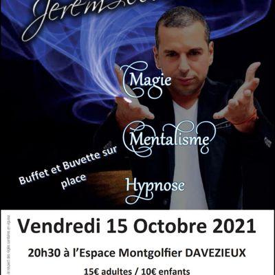 Spectacle organisé par le Sou des écoles de Vernosc-lès-Annonay