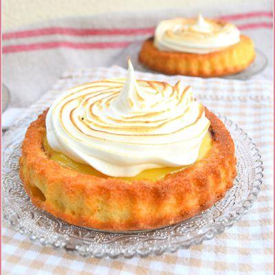 Gâteau citron et myrtilles...comme une tarte mais pas tout à fait !
