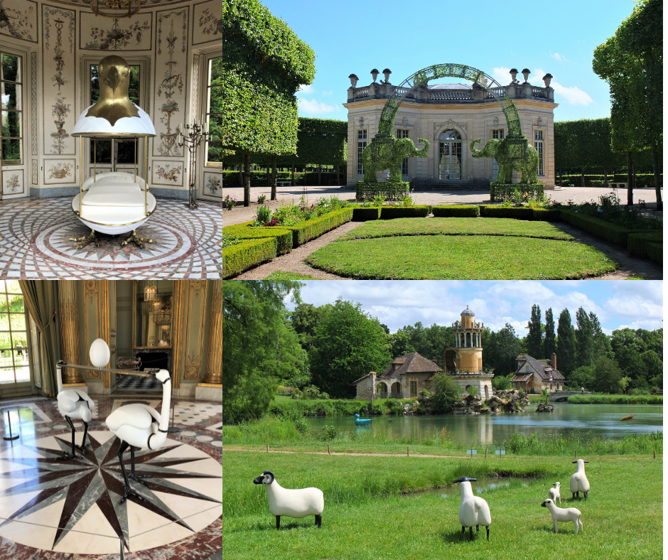Les Lalanne à Trianon © Versailles in my pocket