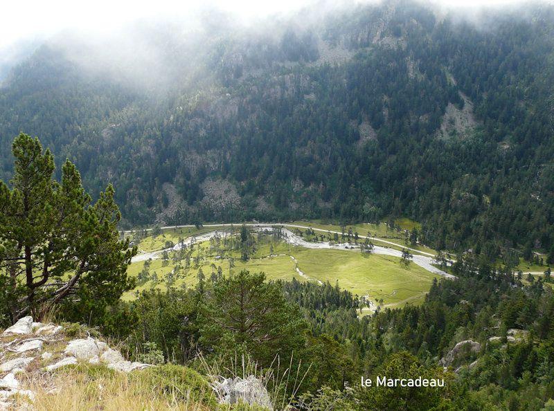 Les lacs de l'Embarrat et du Pourtet. 08/08/2021