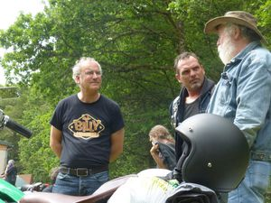 Motards en Correze