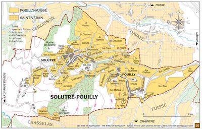 Pouilly-Fuissé: Le terroir de Solutré-Pouilly