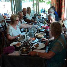 Lou Roudoulet de Chamatte  repas au Clair Logis
