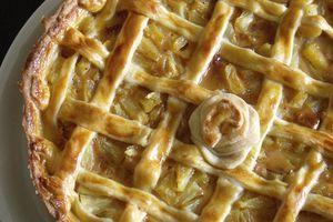 Tarte épicée à l'ananas