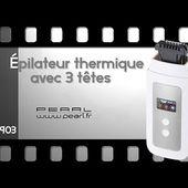 EPILATEUR THERMIQUE - Sans douleur - [PEARLTV.FR]