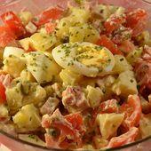 Salade piémontaise légère recette cookeo ou sans |